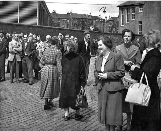 Paisley mill strike, 1956.jpg